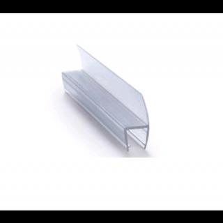 Gummiliste u/dør, lige, f/10mm, Transp - Tætningsbånd/-lister og klodser - Tilbehør og ...