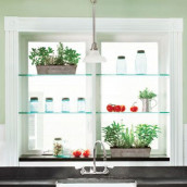Glashylde klar glas