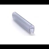 Gummiliste u/dør, buet, f/6mm, Transp