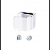 Square greb enkelt, f/4-5mm glas, Krom