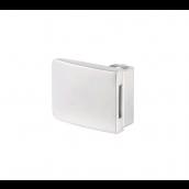 Square centerlås/glas-glas,4-5mm, Mat