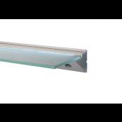 LED 450 hyldekonsol m/8mm satimat - Elox